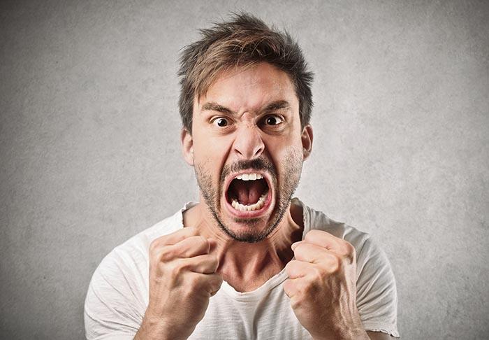 شخصیت شناسی از روی نحوه بروز عصبانیت