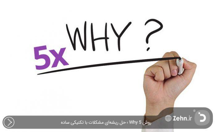 روش 5 Why