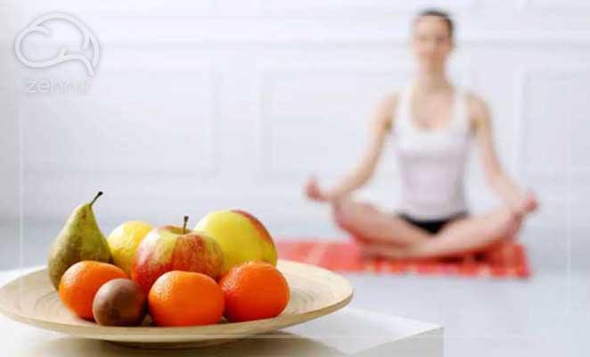 رژیم غذایی در یوگا