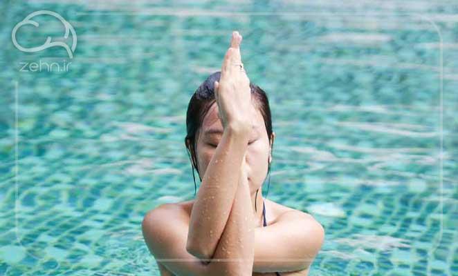 یوگا در آب