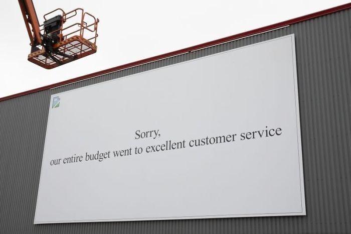 تبلیغات خلاقانه متفاوت