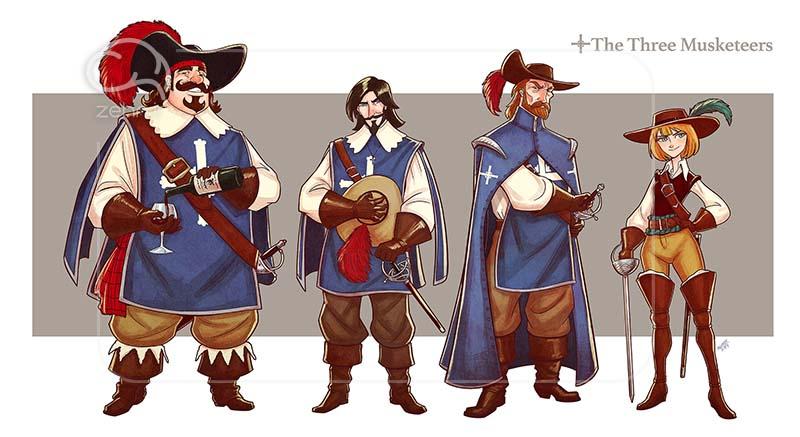 داستان سه تفنگدار