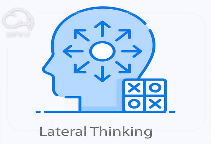 تفکر عمودی و افقی یا تفکر جانبی چیست