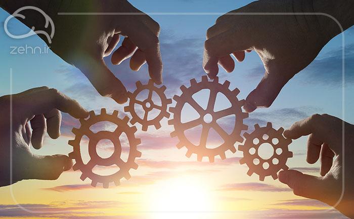 مشارکت های کلیدی در بوم مدل کسب و کار