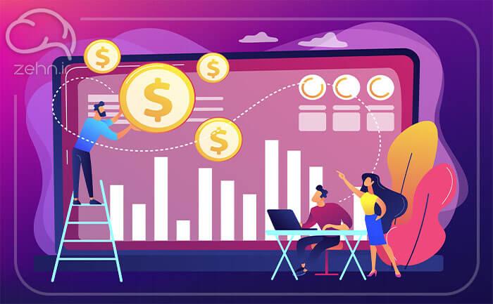 جریان های درآمدی در بوم مدل کسب و کار