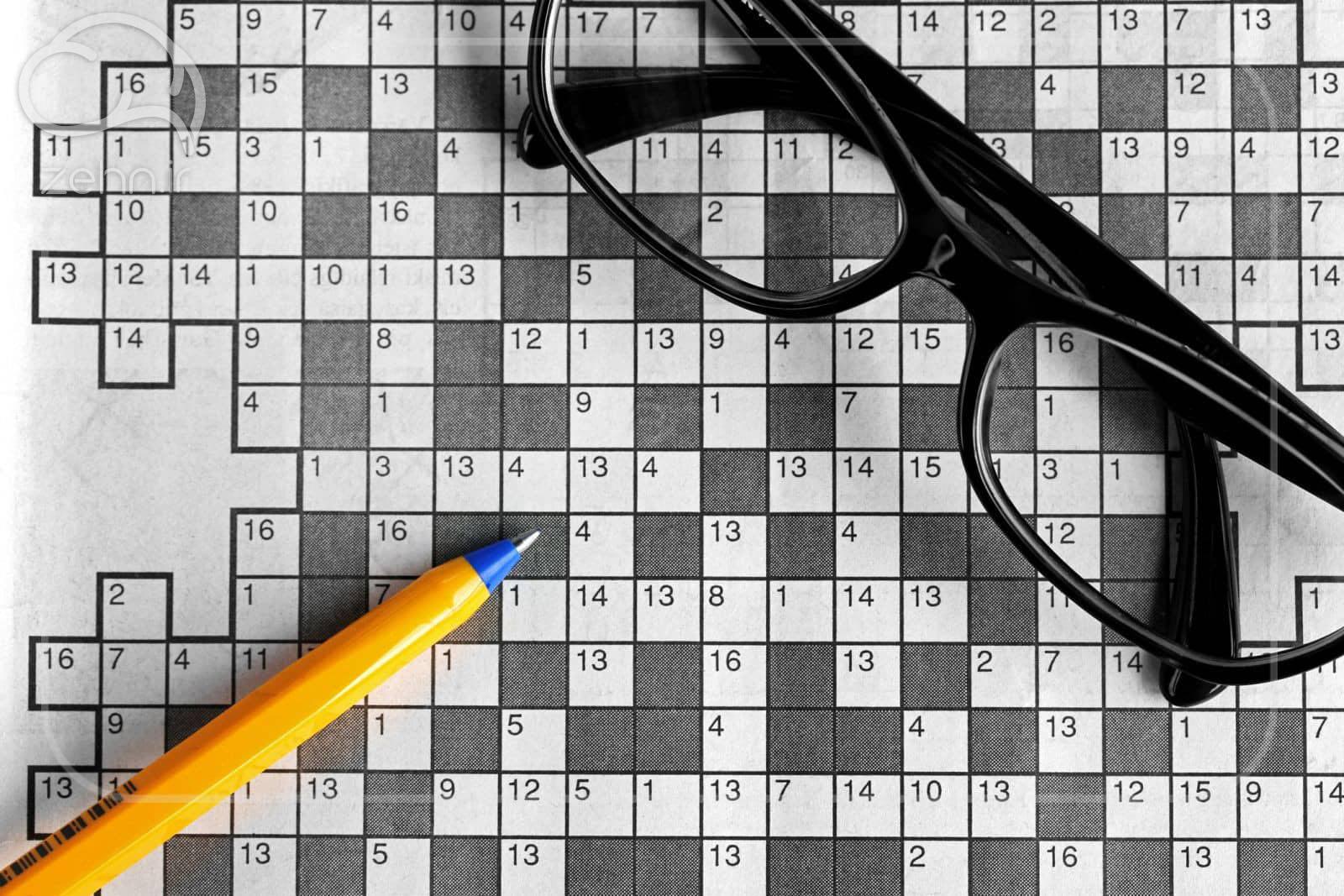 حل کردن جدول یکی از روشهای کشف قدرت ماورائی ذهن است.